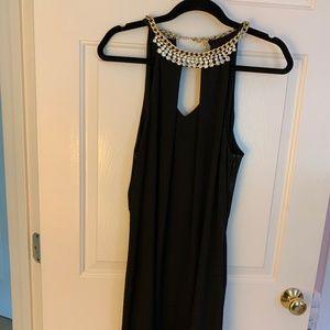 Laundry Black Dress with Jewels